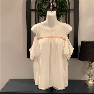 Charming Charlie Women's Trendy Top Size Small